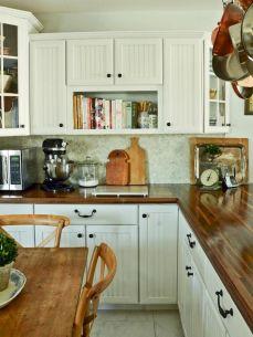 110 Amazing Farmhouse Kitchen Decor Ideas (3)