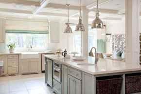 110 Amazing Farmhouse Kitchen Decor Ideas (55)