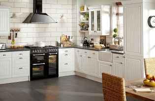 110 Amazing Farmhouse Kitchen Decor Ideas (60)