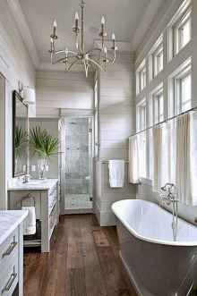 110 Best Farmhouse Bathroom Decor Ideas (122)