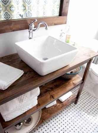 110 Best Farmhouse Bathroom Decor Ideas (128)