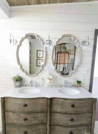 110 Best Farmhouse Bathroom Decor Ideas (141)