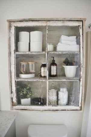 110 Best Farmhouse Bathroom Decor Ideas (142)