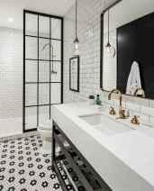 110 Best Farmhouse Bathroom Decor Ideas (172)