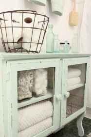 110 Best Farmhouse Bathroom Decor Ideas (197)