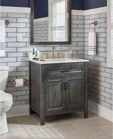 110 Best Farmhouse Bathroom Decor Ideas (198)