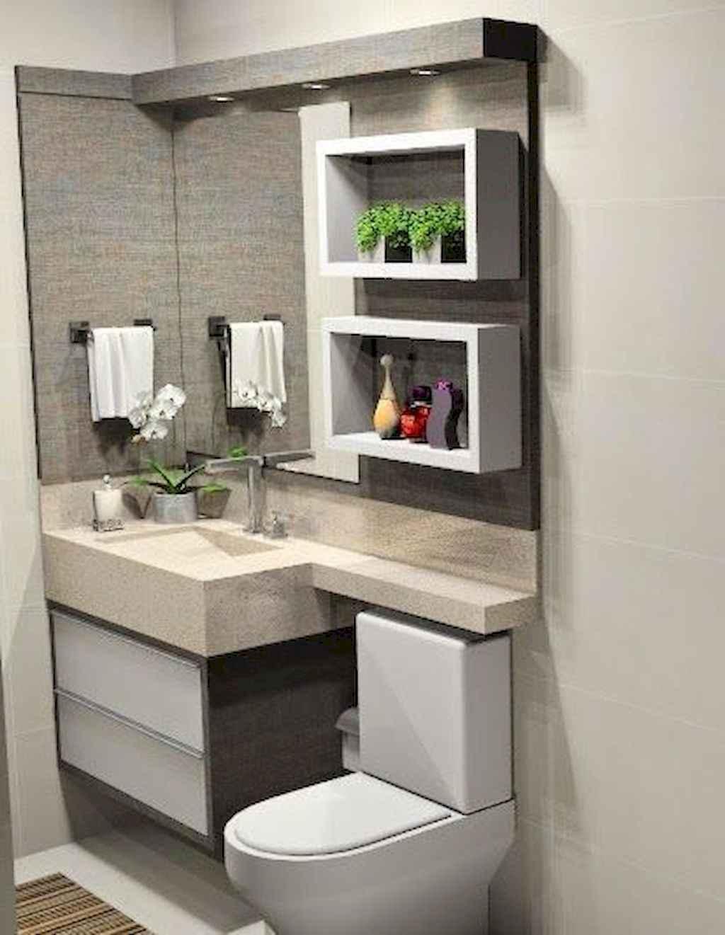 111 Brilliant Small Bathroom Remodel Ideas On A Budget (27)