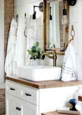 125 Brilliant Farmhouse Bathroom Vanity Remodel Ideas (40)