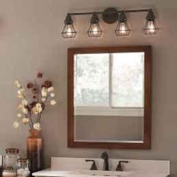 125 Brilliant Farmhouse Bathroom Vanity Remodel Ideas (80)
