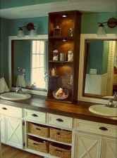 125 Brilliant Farmhouse Bathroom Vanity Remodel Ideas (95)