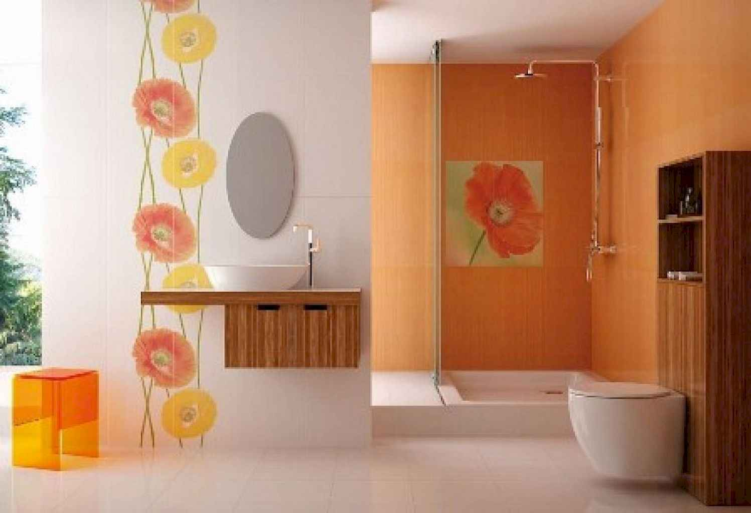 55 Cool and Relax Bathroom Decor Ideas (1)