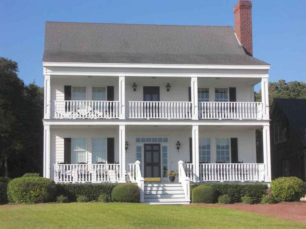 80 Amazing Plantation Homes Farmhouse Design Ideas (1)