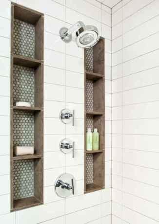 80 Awesome Farmhouse Tile Shower Decor Ideas (12)