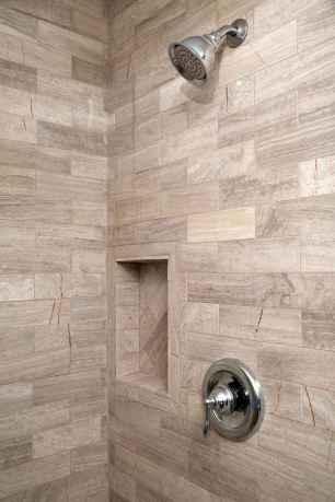 80 Awesome Farmhouse Tile Shower Decor Ideas (13)