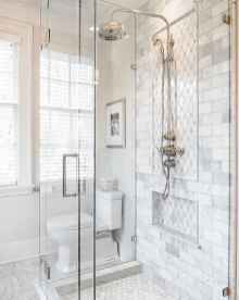 80 Awesome Farmhouse Tile Shower Decor Ideas (19)