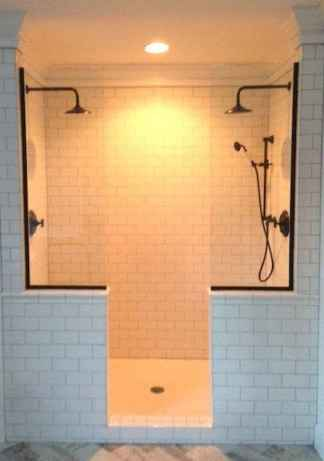 80 Awesome Farmhouse Tile Shower Decor Ideas (25)
