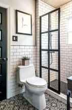 80 Awesome Farmhouse Tile Shower Decor Ideas (27)