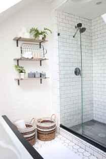 80 Awesome Farmhouse Tile Shower Decor Ideas (32)