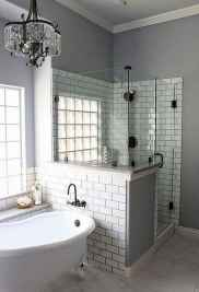 80 Awesome Farmhouse Tile Shower Decor Ideas (50)