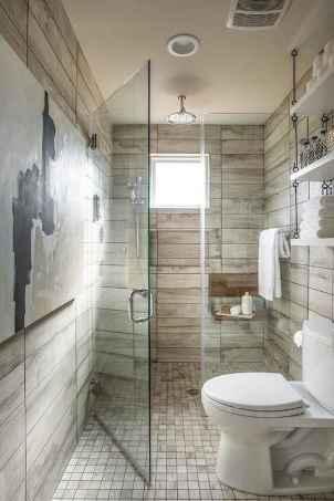 80 Awesome Farmhouse Tile Shower Decor Ideas (70)