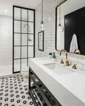 80 Awesome Farmhouse Tile Shower Decor Ideas (73)