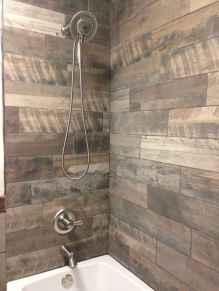 80 Awesome Farmhouse Tile Shower Decor Ideas (76)
