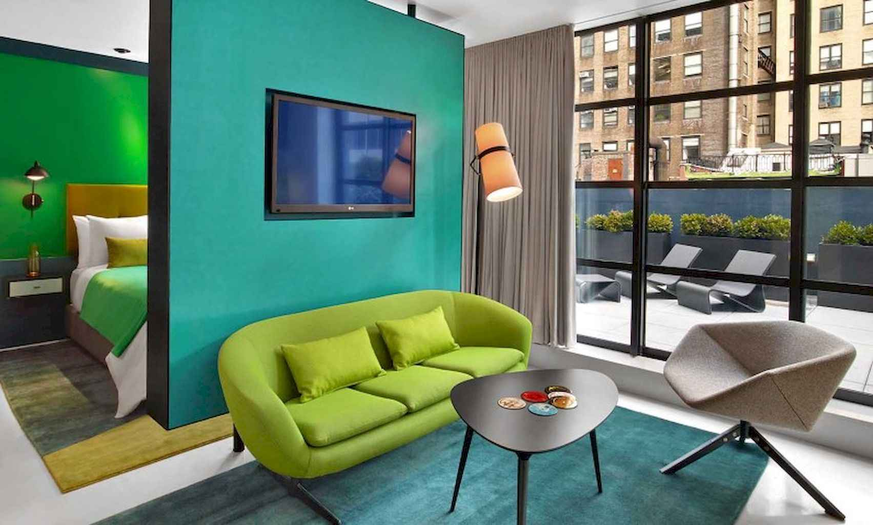 80 Elegant Harmony Interior Design Ideas For First Couple (74)