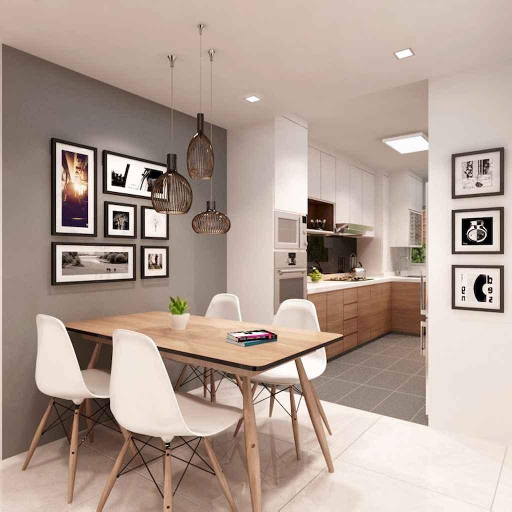 80 Stunning Apartment Dining Room Decor Ideas (16)