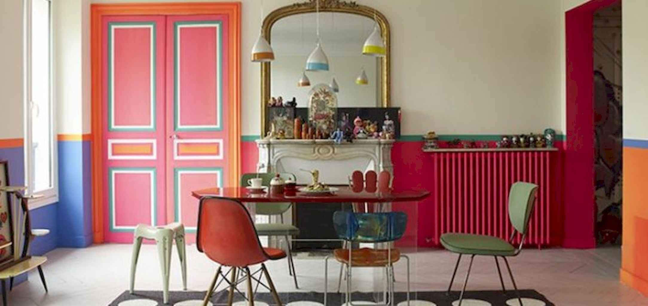 80 Stunning Apartment Dining Room Decor Ideas (24)