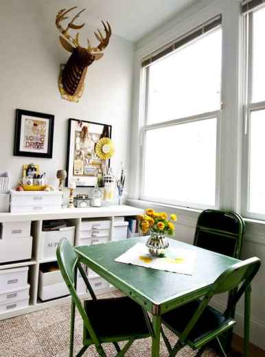 80 Stunning Apartment Dining Room Decor Ideas (35)