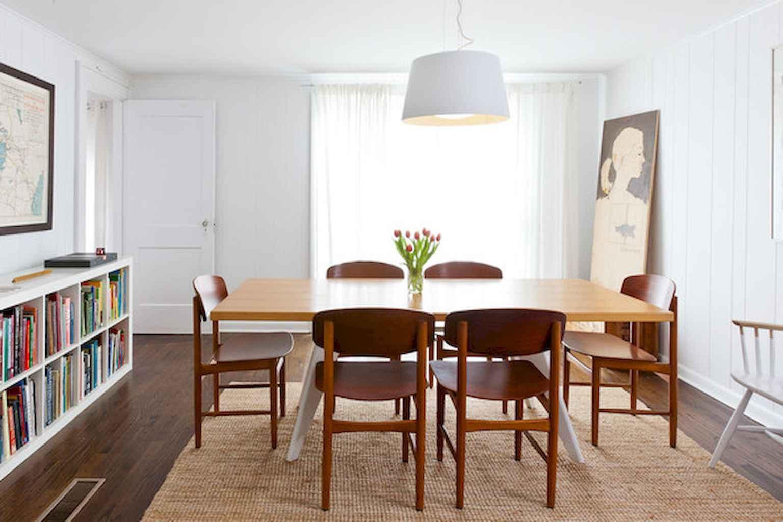 80 Stunning Apartment Dining Room Decor Ideas (41)
