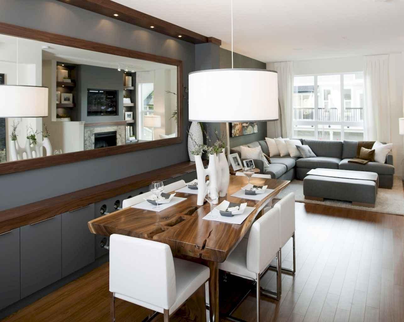 80 Stunning Apartment Dining Room Decor Ideas (42)