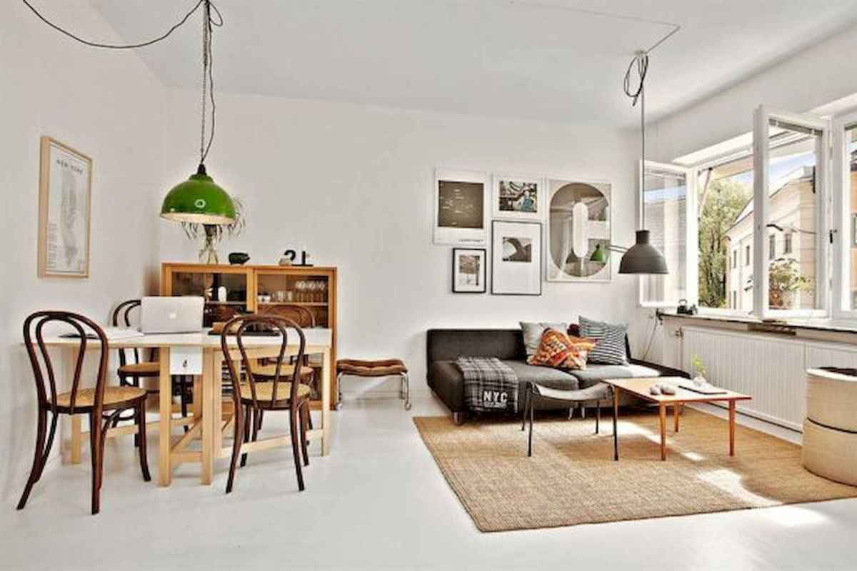80 Stunning Apartment Dining Room Decor Ideas (5 ...