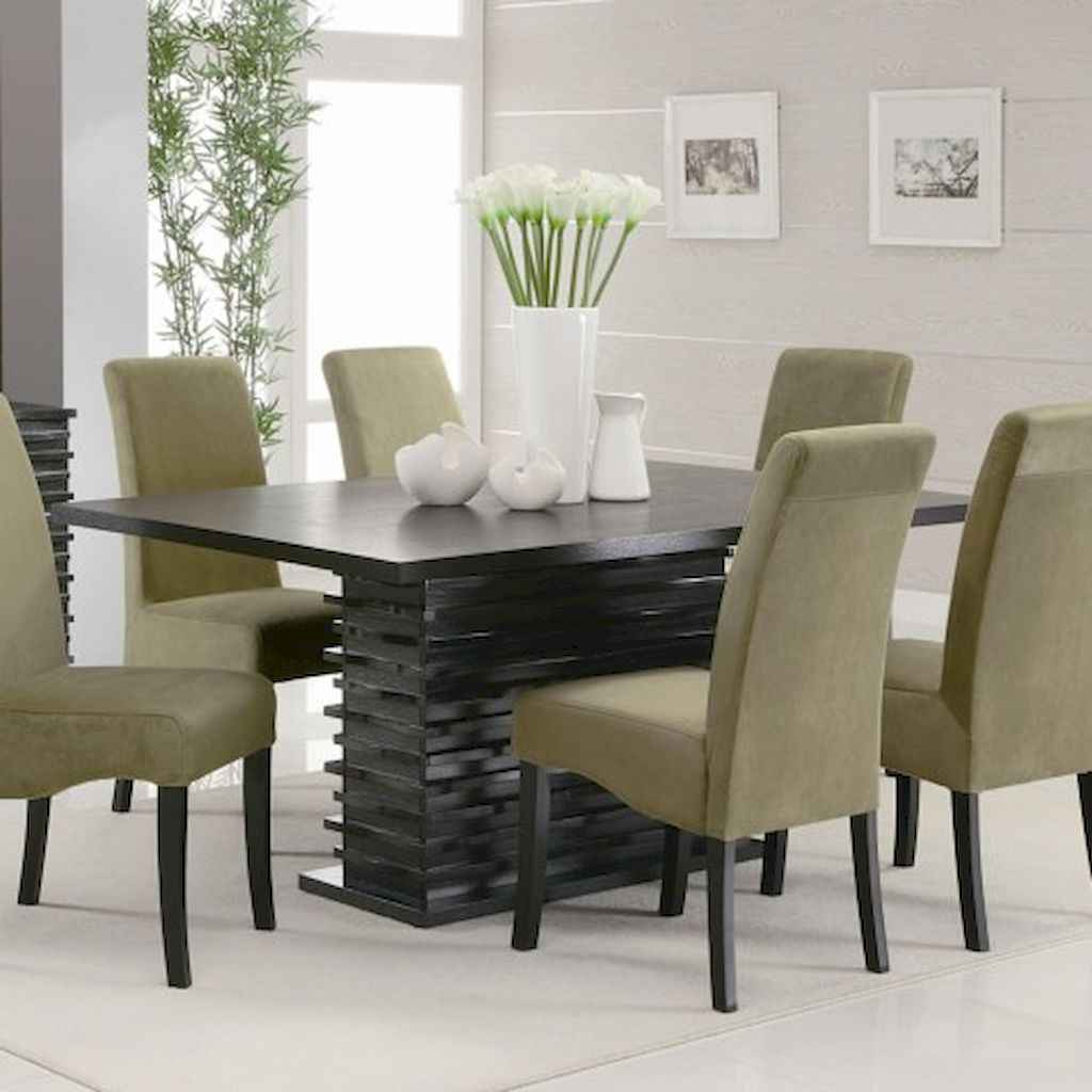 80 Stunning Apartment Dining Room Decor Ideas (50)