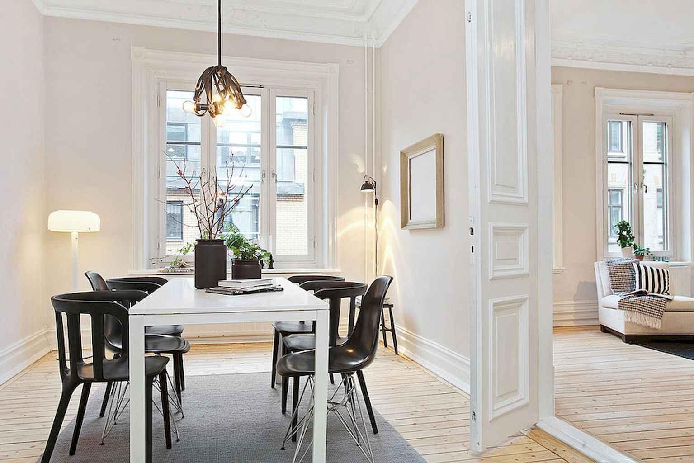 80 Stunning Apartment Dining Room Decor Ideas (53)