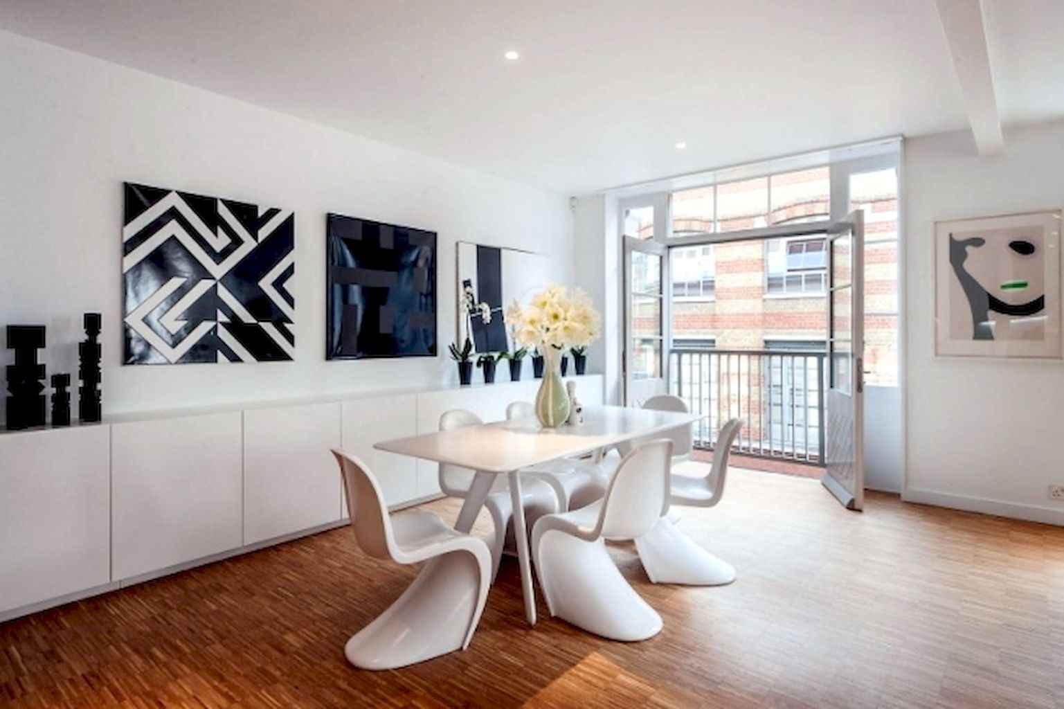 80 Stunning Apartment Dining Room Decor Ideas (6)