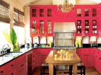 Top 40 Colorful Kitchen Cabinet Remodel Ideas For First Apartment (14)