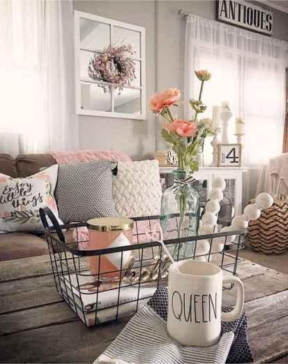 Best 30 Farmhouse Living Room Decor Ideas (20)