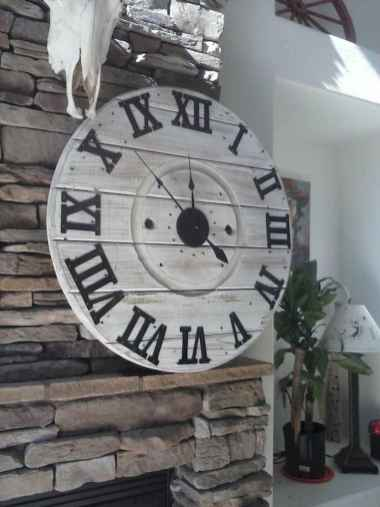 33 Best Industrial Farmhouse Clock Design Ideas (14)