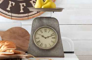 33 Best Industrial Farmhouse Clock Design Ideas (30)