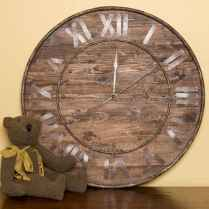 33 Best Industrial Farmhouse Clock Design Ideas (9)
