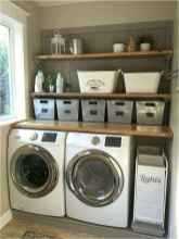 45 Rustic Farmhouse Laundry Room Design Ideas and Makeover (10)