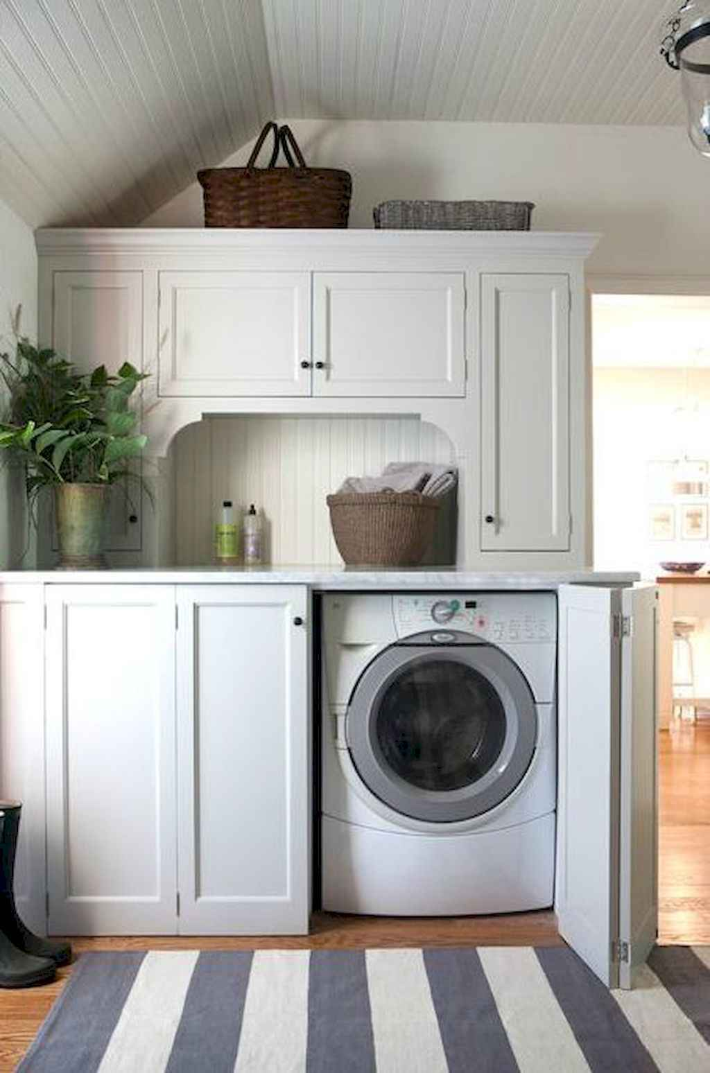45 Rustic Farmhouse Laundry Room Design Ideas and Makeover (22)