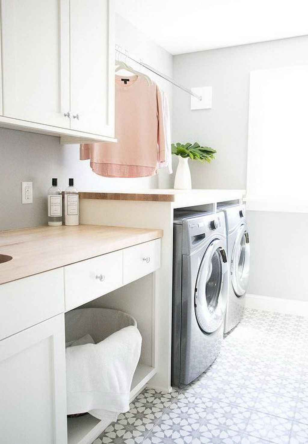 45 Rustic Farmhouse Laundry Room Design Ideas and Makeover (32)