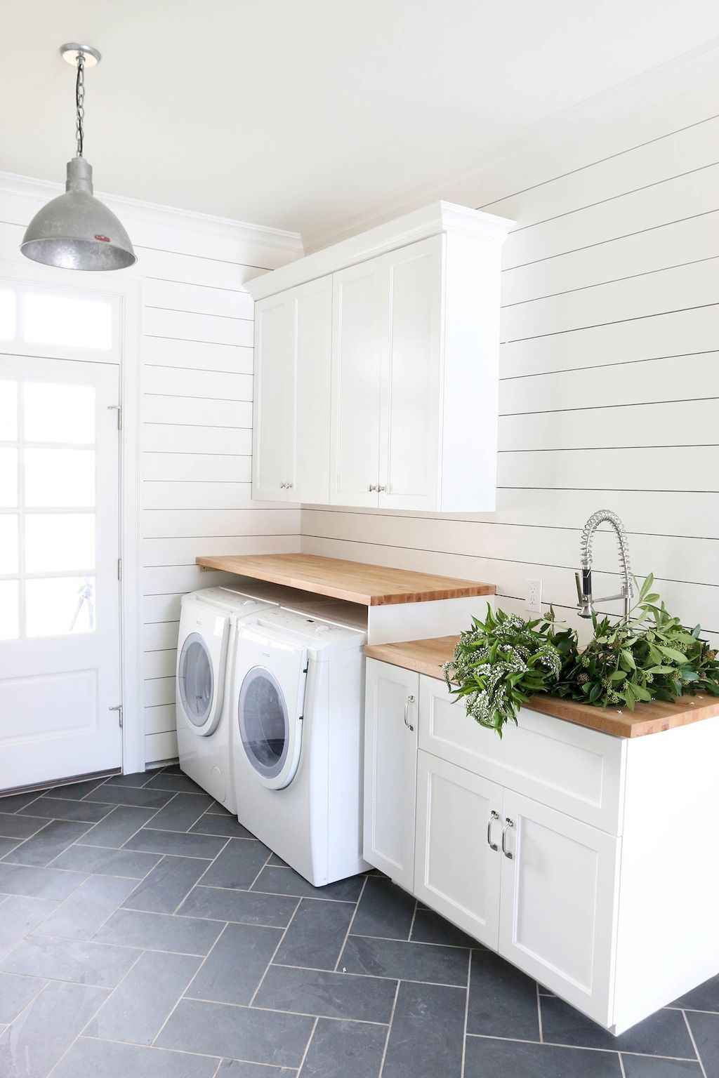 45 Rustic Farmhouse Laundry Room Design Ideas and Makeover (37)