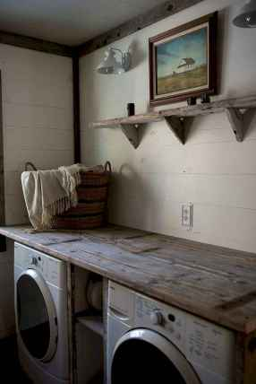 45 Rustic Farmhouse Laundry Room Design Ideas and Makeover (41)