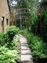 55 Beautiful Side Yard Garden Design Ideas (39)