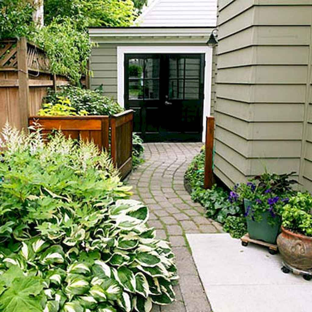 55 Beautiful Side Yard Garden Design Ideas (48)