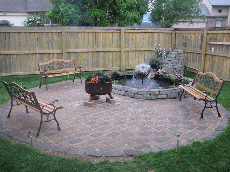 60 Beautiful Backyard Fire Pit Ideas Decoration and Remodel (21)