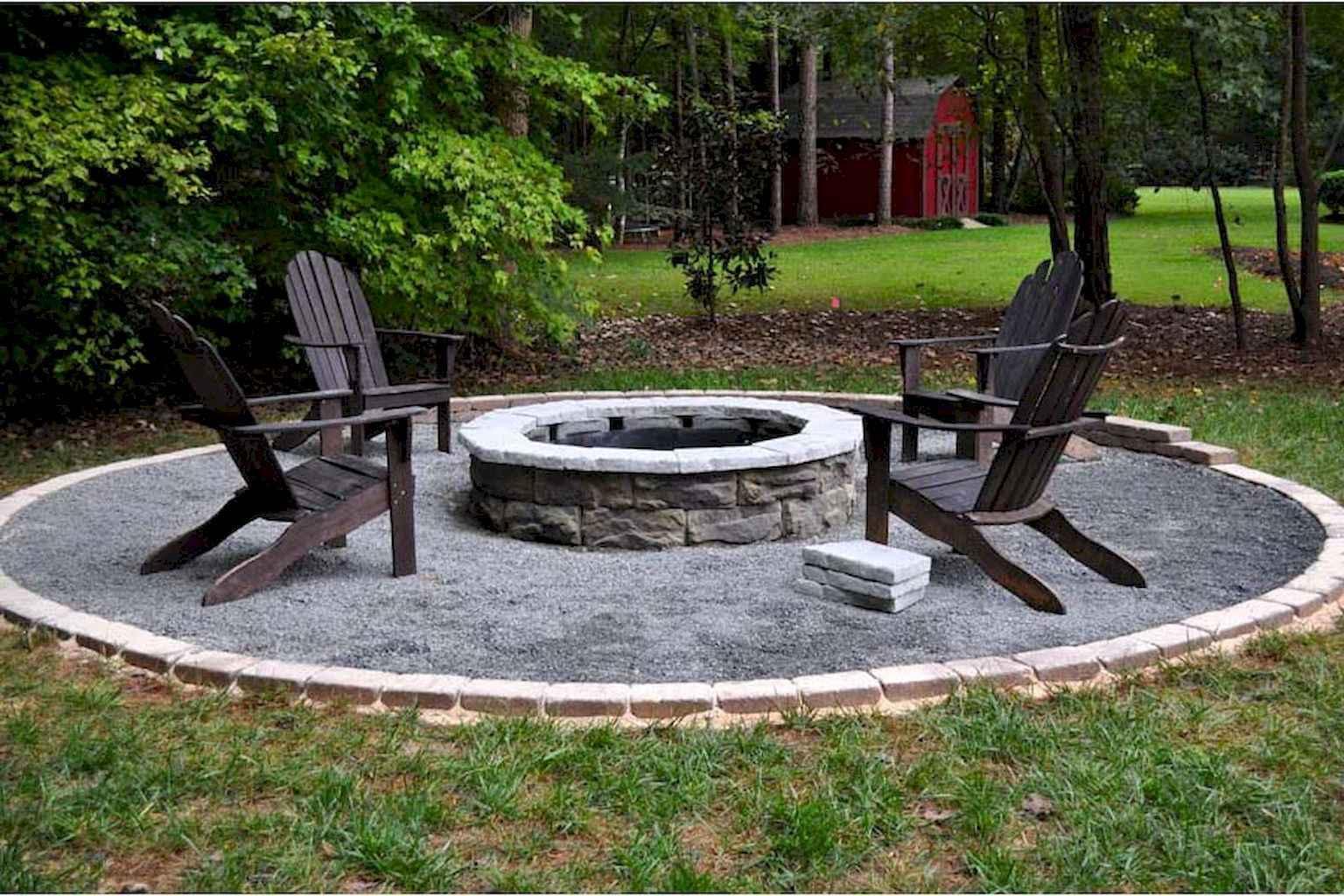 60 Beautiful Backyard Fire Pit Ideas Decoration and Remodel (30)